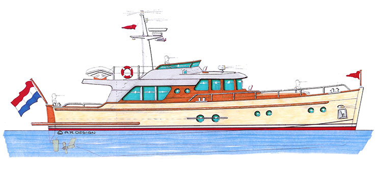Gently 57' Trawler