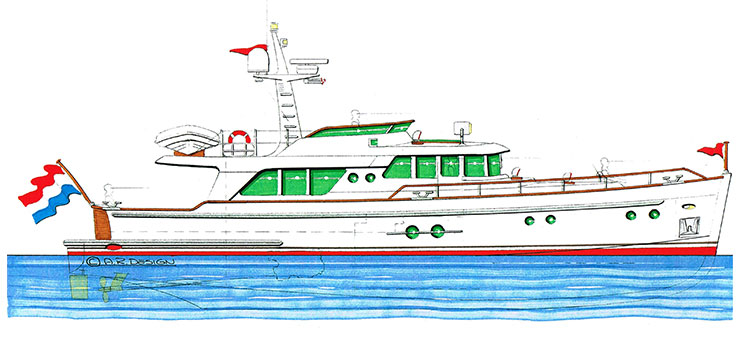 Gently 60' Trawler